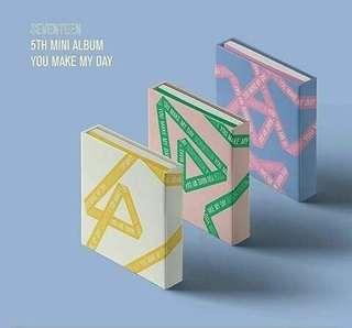 [PRE-ORDER] SEVENTEEN 5TH MINI ALBUM 'YOU MAKE MY DAY'