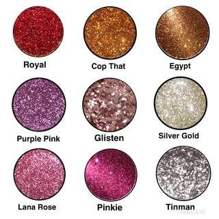 50 % OFF! Lana Beauty Pressed Glitters