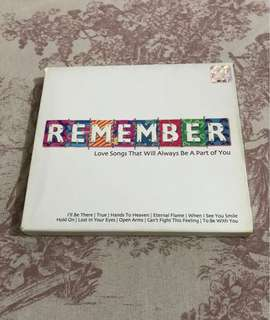 Remember (Love songs that will always be a part of you)