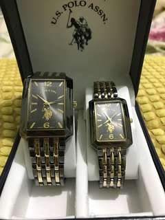 US Polo Assn Couple Watch for Php 3,500