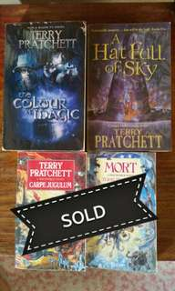 DiscWorld Books - Terry Pratchett