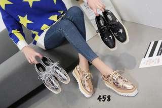 Stella McCartney Elsye Star Platform Shoes 458