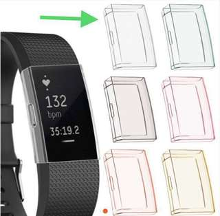 Fitbit Charge 2 Screen Protector Rubber Casing/ Protector