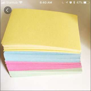 Color cards (30)
