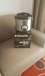 Sigmatic 1.8L rice cooker