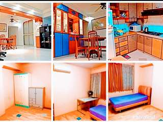 1 Spacious Common Room Fully Furnished With A/C in Woodlands