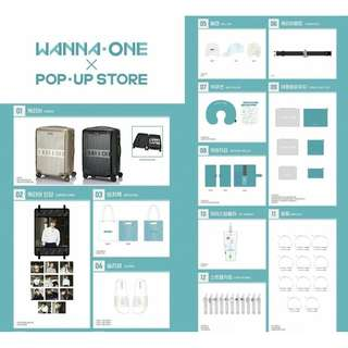 WANNA ONE - POP UP STORE