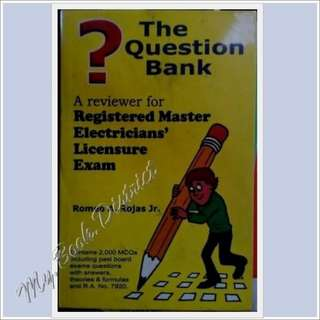 The Question Bank _ A reviewer for RME Licensure Exam