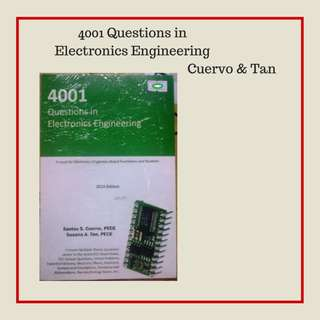 ELECTRONICS ENGINEERING- 4001 Questions in Electronics Engineering by Cuervo & Tan