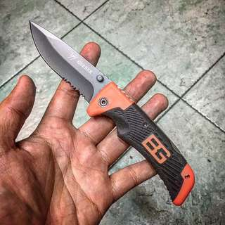 BG Camping Utility Folding Pocket Knife