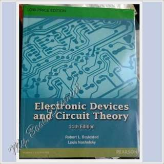ELECTRONICS ENGINEERING- Electronic Devices and Circuit Theory
