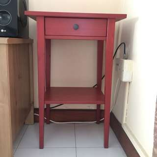 Ikea Side Table with drawer
