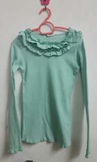 Mint Green Top
