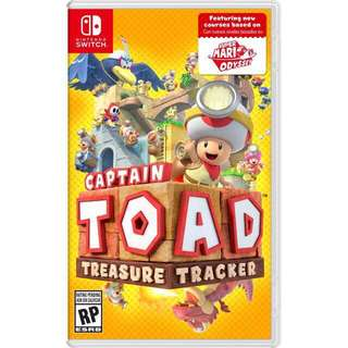 Captain Toad: Treasure tracker Nintendo switch