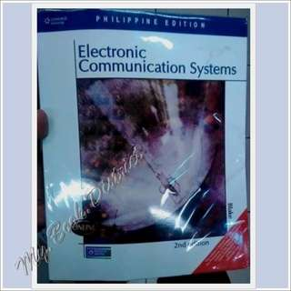 ELECTRONIC COMMUNICATION SYSTEM 2ND BY BLAKE