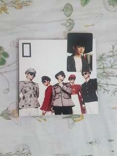 SHINee Album - Everybody Minho photocard