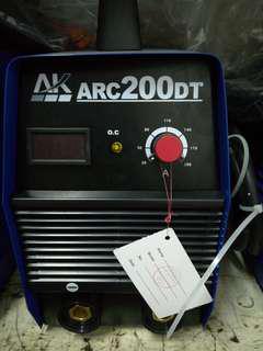 AK ARC200DT Metal Welding Set
