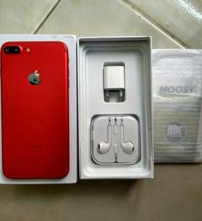 Iphone 7+ / 7 plus hdc 128gb merah