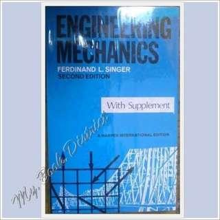 ENGINEERING- Engineering Mechanics 2nd Ed by Singer