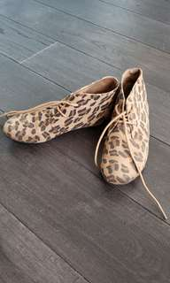Forever 21 cheetah print shoes