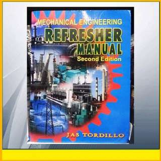 ENGINEERING- Mechanical Engineering Refresher Manual 2nd Ed by Tordillo
