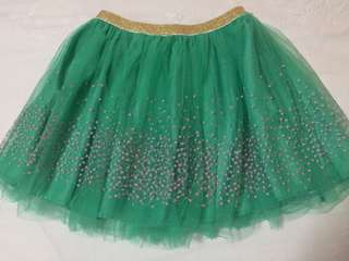 COTTON ON KIDS tutu  glitter garter skirt