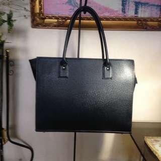 Long Black Shoulder Bag