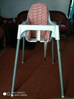 Informa High Chair + Ikea Cushion