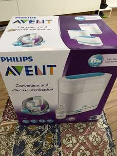 philip avent 3 in 1 electronic basic steam sterilizer