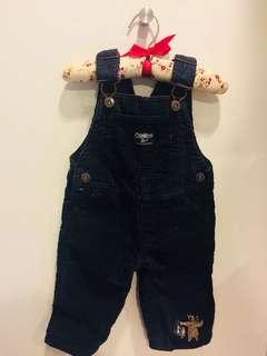 Osh Kosh baby boy overalls - 6mo