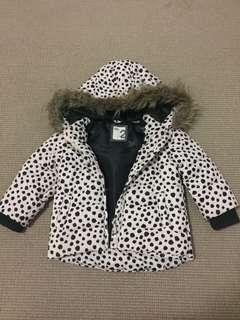 Cotton On Kids Puffa Jacket size 2