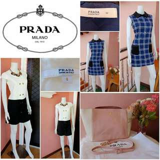 Take All -Yunik- Authentic PRADA Dresses and Bag