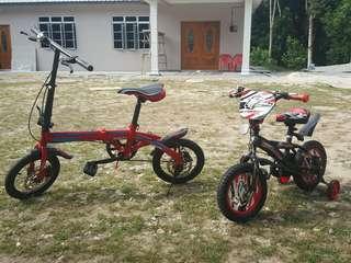 Basikal lipat & basikal budak