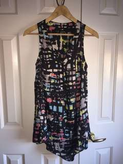 Multicolour print dress