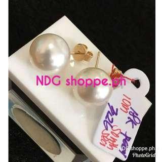 Pure south sea pearl w/ gold