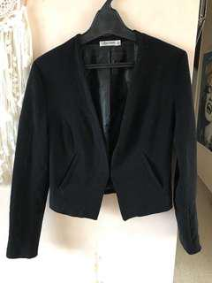 Black office jacket, size 8
