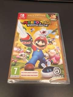 NEW Mario + Rabbids Gold Edition
