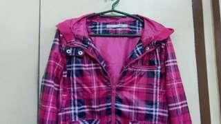 Pink Raincoat / Jacket