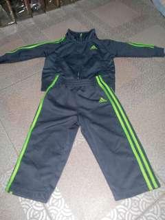 Adidas baby jacket w/ pants terno