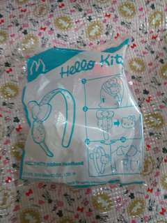 McDonalds happy meal hello kitty headband