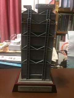 HSBC滙豐大廈(千禧誌慶)金屬錢箱