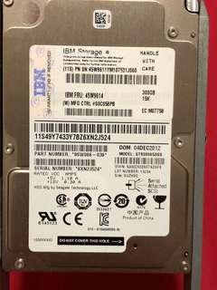 IBM SAS 300Gb 2.5 Hard Disk Drive x6