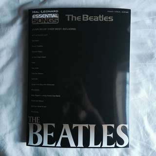 🎶THE BEATLES piano/vocal/guitar songbook