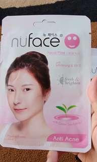 Sheet Mask  Nu face
