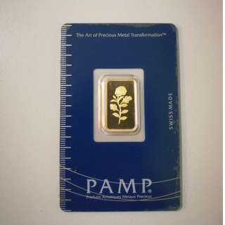 PAMP Suisse Gold Bar Rosse 5g