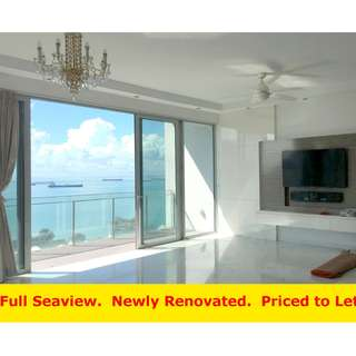 Aalto (4 bedroom, 2024sq ft) - High Floor, Newly Renovated, Full Sea View, Best Deal