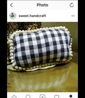 Handmade fabric pillow pin chusion