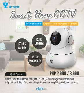 Authentic Wireless Smart Home CCTV by Littlelf