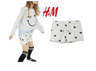 H&M shorts for kids 2to6 yrs old
