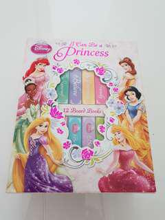 Disney Princess 12 Board Books